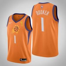 Suns Devin Booker Champions Orange Maillot - Déclaration