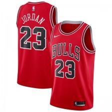 Nike: Authentic Maillot de Michael Jordan Rouge Icon Édition (Chicago Bulls)