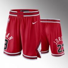 Chicago Bulls Michael Jordan Icon Mesh Shorts - Rouge