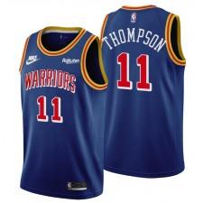 Golden State Warriors Klay Thompson &11 75th Anniversaire Bleu Maillot