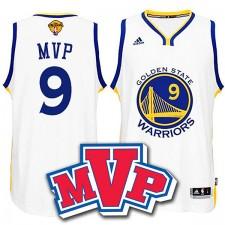 NBA 2015 Finales Warriors André Iguodala FMVP Nouveau Swingman Blanc Maillot