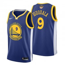 Icône pour hommes 2019 finales NBA Golden State Warriors André Iguodala Royal Maillot