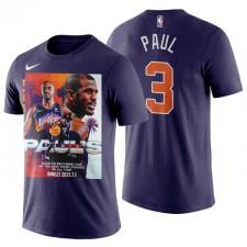 PHOENIX SUNSS & 3 CHRIS PAUL L'un des meilleurs T-shirt T-shirt Violet