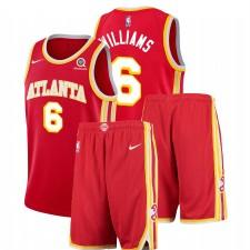 Nike Atlanta Hawks Lou Williams & 6 Red icon Edition Tenue de gymnastique