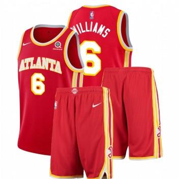 Nike Atlanta Hawks Lou Williams # 6 Rouge icon Edition Tenue de gymnastique