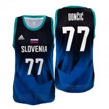 Slovénie Basketball Tokyo Olympics et 77 Luka Doncic Bleu Maillot