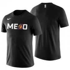 Los Angeles Lakers Team Logo Carmelo Anthony no. 7 t-shirt Noir