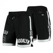 Brooklyn Nets Pro Standard &13 James Harden Noir Équipe Joueur Shorts