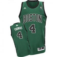 NBA Isaiah Thomas Swingman Men's Green Jersey - Adidas Boston Celtics &4 Alternate
