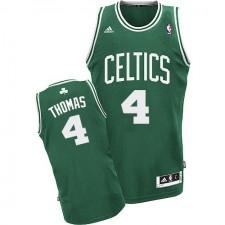 NBA Isaiah Thomas Swingman Men's Green Jersey - Adidas Boston Celtics &4 Road