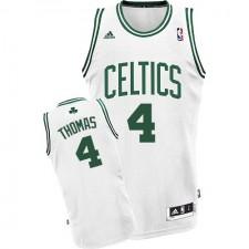 NBA Isaiah Thomas Swingman Men's White Jersey - Adidas Boston Celtics &4 Home