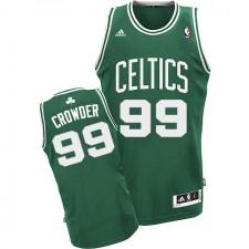 NBA Jae Crowder Swingman Men's Green Jersey - Adidas Boston Celtics &99 Road
