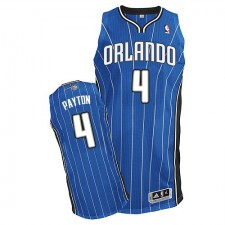 NBA Elfrid Payton Authentic Men's Royal Blue Jersey - Adidas Orlando Magic &4 Road