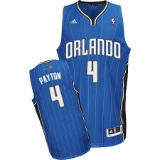 NBA Elfrid Payton Swingman Men's Royal Blue Jersey - Adidas Orlando Magic &4 Road