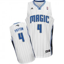 NBA Elfrid Payton Swingman Men's White Jersey - Adidas Orlando Magic &4 Home