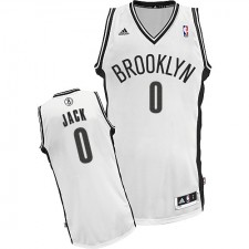 NBA Jarrett Jack Swingman Men's White Jersey - Adidas Brooklyn Nets &0 Home