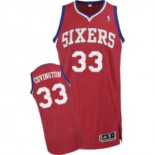 NBA Robert Covington Authentic Men's Red Jersey - Adidas Philadelphia 76ers &33 Road