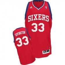 NBA Robert Covington Swingman Men's Red Jersey - Adidas Philadelphia 76ers &33 Road