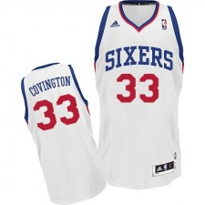 NBA Robert Covington Swingman Men's White Jersey - Adidas Philadelphia 76ers &33 Home