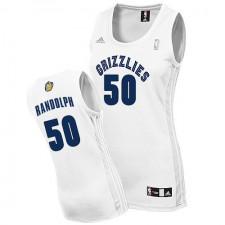 NBA Zach Randolph Authentic Women's White Jersey - Adidas Memphis Grizzlies &50 Home