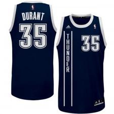 Oklahoma City Thunder &35 Kevin Durant 2014-15 New Swingman Alternate Blue Jersey