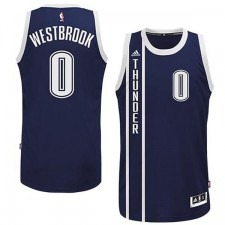 Oklahoma City Thunder &0 Russell Westbrook 2014-15 New Swingman Alternate Blue Jersey