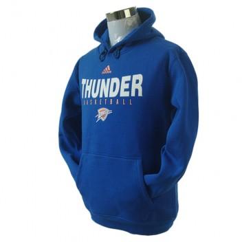 Oklahoma City Thunder principal Logo synthétique Bleu Pullover Hoodie