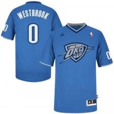 Oklahoma City Thunder &0 Russell Westbrook 2013 Christmas Day Jersey