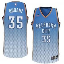 Oklahoma City Thunder &35 Kevin Durant new Resonate Fashion Swingman Jersey