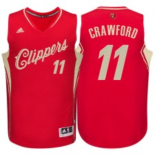 Los Angeles Clippers &11 Jamal Crawford Red 2015 Christmas Day Swingman Jersey