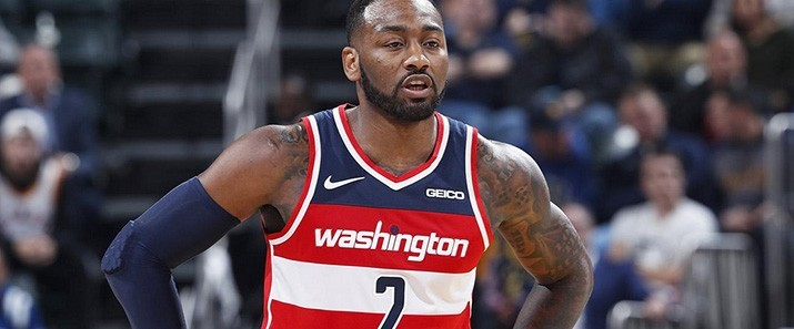 newest c253b 07a8a Wizards John Wall Maillot authentique - NBA pas cher John ...